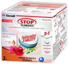 Ceresit Stop vlhkosti Aero 360 náhradné tablety 2x300g energetické ovocie