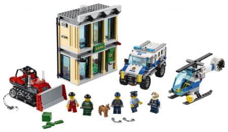 LEGO City 60140 Vlom z buldožerjem