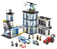 LEGO City 60141 Policijska postaja - odprta embalaža
