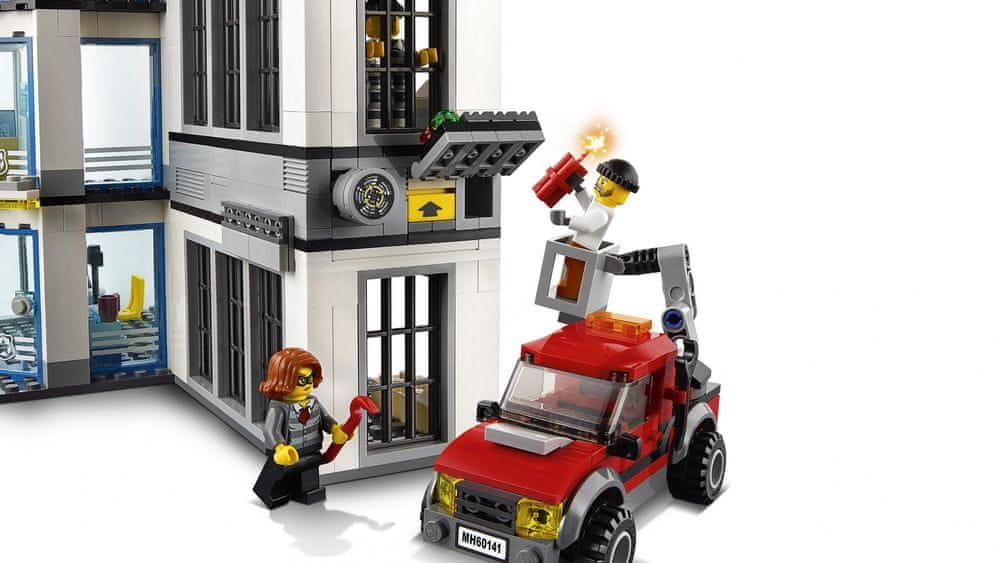 LEGO City Police 60141 Policejní stanice