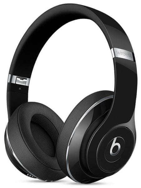 Beats by Dr. Dre Studio Wireless, leskle černá (MP1F2ZM/A)