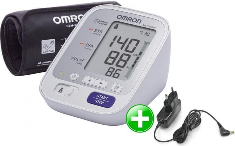 Omron M3 Comfort + zdroj