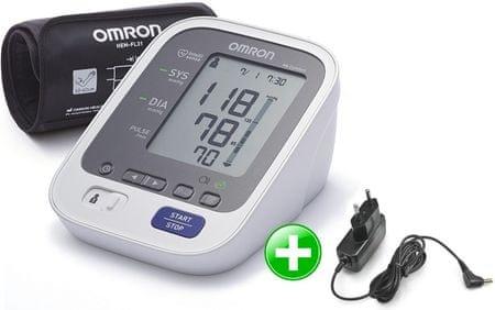 Omron M6 Comfort s Intelli manžetou + zdroj