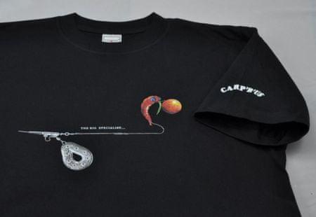 Carp ´R´ Us Carp´R´Us Tričko logo Mouthsnagger L
