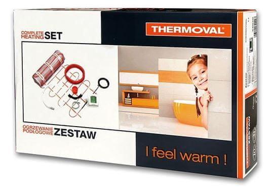 Thermoval set grelna preproga 2 m2, 340 W + touch screen termostat