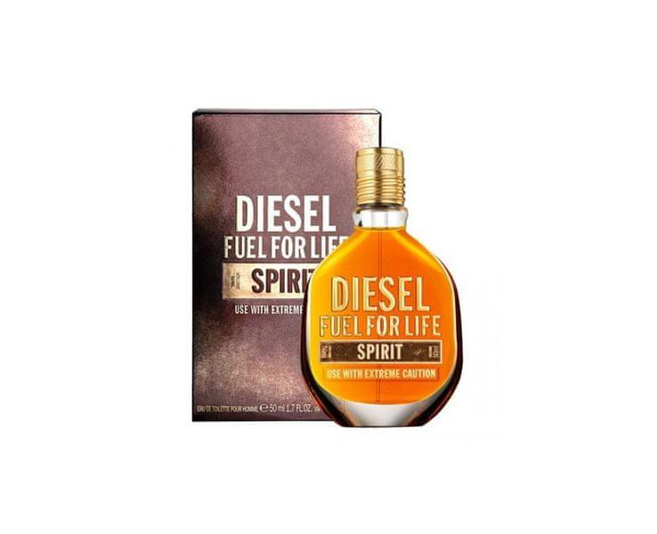 Diesel Fuel For Life Spirit - toaletní voda s rozprašovačem 50 ml