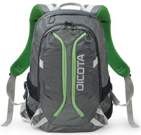 DICOTA Backpack Active 14-15.6 szürke   lime (D31221)  38e10659a2