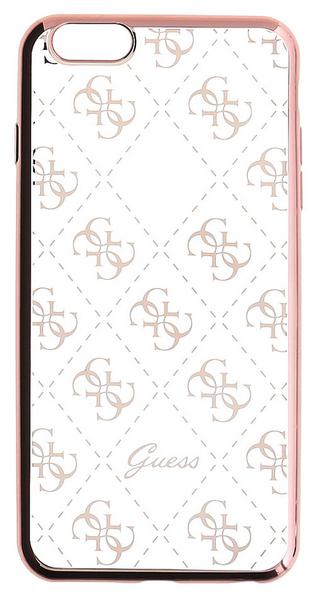 Guess GUHCP7TR4GRG 4G TPU pouzdro Rose Gold pro iPhone 7