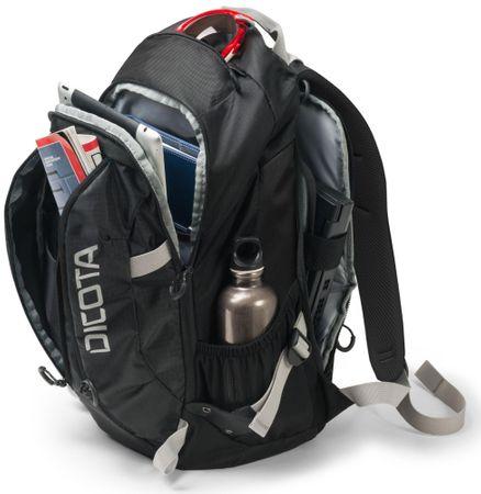 968beadc953 Dicota Backpack Active XL 15-17.3 black black (D31222)