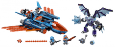 LEGO® Nexo Knights 70351 Clayev leteći borac s pucačem