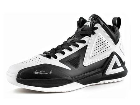 Peak copati za košarko TP1 E34323A, belo-črni, 47