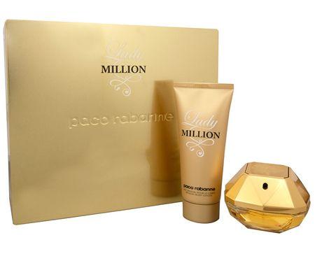 Paco Rabanne Lady Million - EDP 50 ml + telové mlieko 100 ml