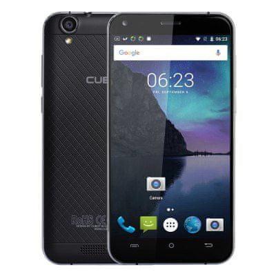 Cubot telefon Manito LTE, črn