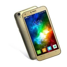 Cubot telefon Manito LTE, zlatna + poklon: etui