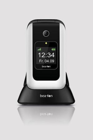 Beafon mobilni telefon SL670, bel + darilo: usnjen etui