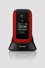 Beafon mobilni telefon SL670, crvena
