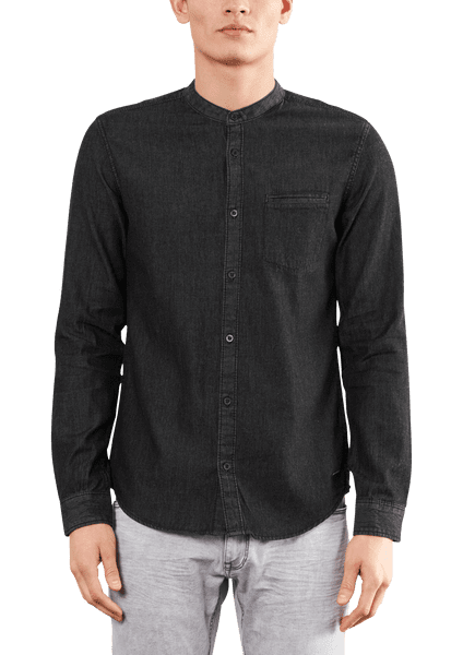 s.Oliver pánská bavlněná košile M černá