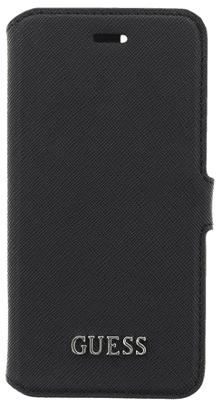 Guess GUBKMTBK Saffiano Universal Book pouzdro Black vel. M