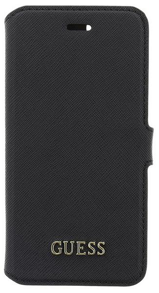 Guess GUFLBKP7TBK Saffiano Book pouzdro Black pro iPhone 7