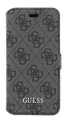 Guess GUFLBKPSE4GG 4G Uptow Book pouzdro Grey pro iPhone 5/5S/SE
