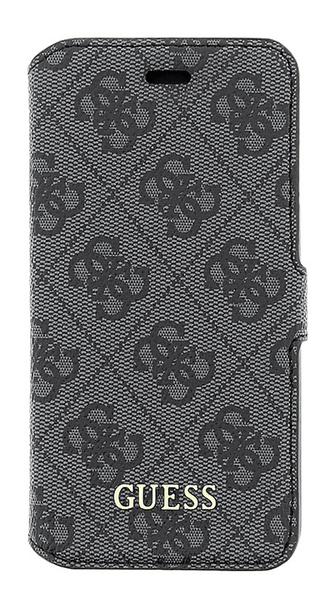 Guess GUFLBKP64GG 4G Uptow Book pouzdro Grey pro iPhone 6/6S