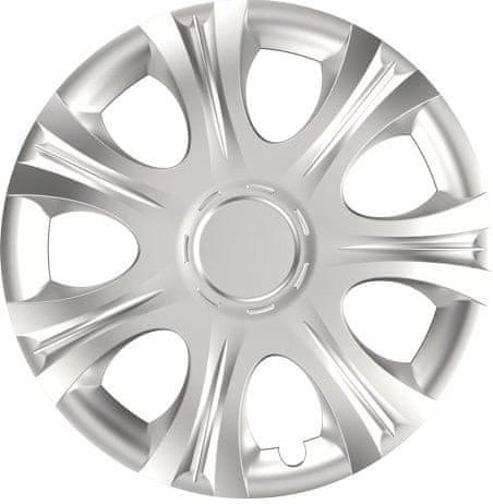 Versaco Poklice IMPULSE Silver sada 4ks 15