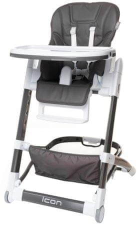 4Baby Židlička ICON, Grey