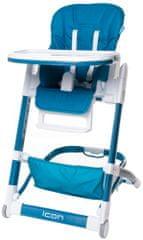 4Baby Krzesełko do karmienia ICON, Blue