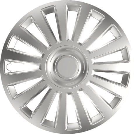 Versaco Poklice LUXURY Silver sada 4ks 16