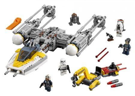 LEGO Star Wars 75172 Zvezdni lovec Y-Wing Starfighter