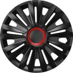 Versaco Poklice ROYAL Red Ring Black sada 4ks