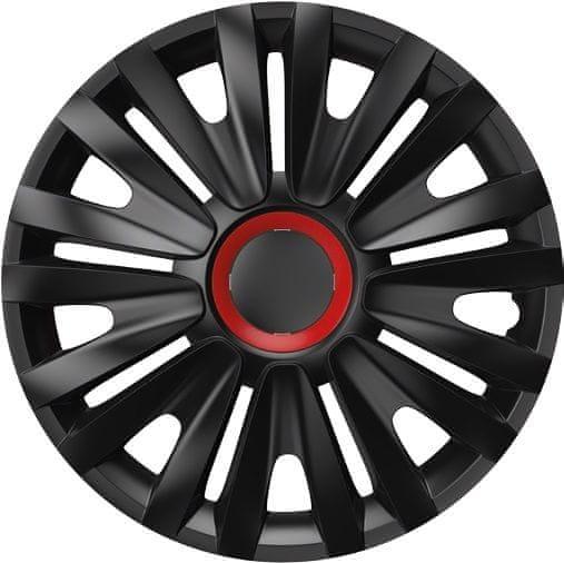Versaco Poklice ROYAL Red Ring Black sada 4ks 13