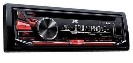 JVC avtoradio KDDB67 DAB