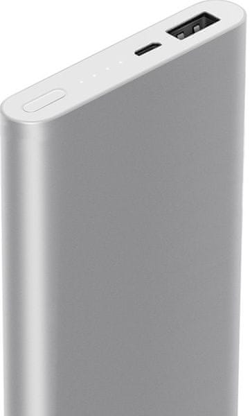 Xiaomi Power Bank 2 - 10000 mAh QuickCharge Silver
