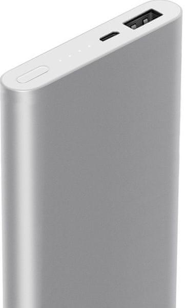 Xiaomi Power Bank 2 - 10000 mAh QuickCharge Silver