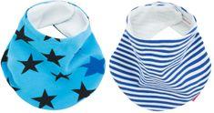 BeeMy Podbradník / slintáčik NIGHT STARS/BABY BLUE