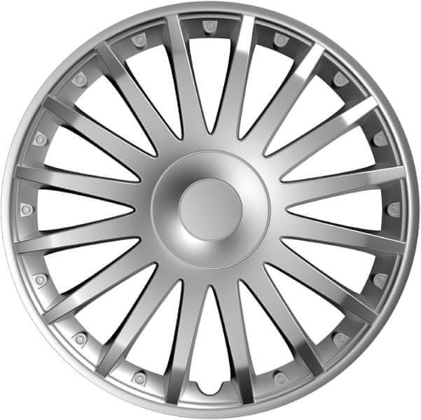 Versaco Poklice CRYSTAL Silver sada 4ks 14