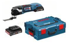 BOSCH Professional akumulatorski večnamenski rezalnik v L-Boxx-u GOP 18 V-28 (06018B6000)