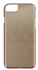 Guess GUHCP7MEGO 4G Aluminium pouzdro Gold pro iPhone 7