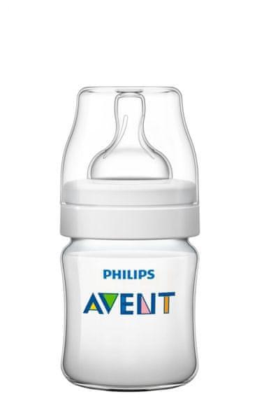 Avent Kojenecká láhev Classic+ 125 ml (PP), 1 ks
