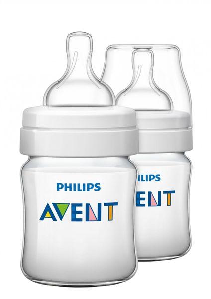 Avent Kojenecká láhev Classic+ 125 ml (PP), 2 ks