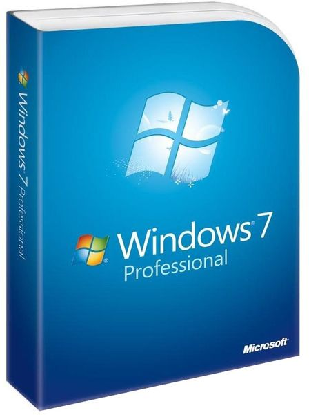 Microsoft OEM Windows 7 Professional 64-Bit CZ SP1 (FQC-08688)
