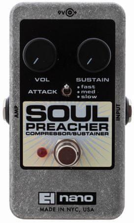 Electro-Harmonix Soul Preacher Gitarový efekt
