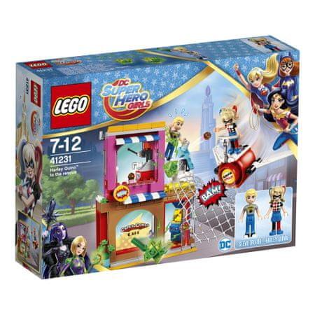 LEGO Super heroes 41231 Harley Quinn na pomoč
