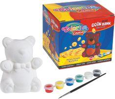 Pokladnička medvídek Colorino