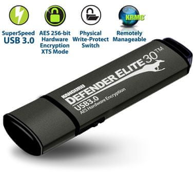 Kanguru varen USB ključ Defender Elite30, 16 GB