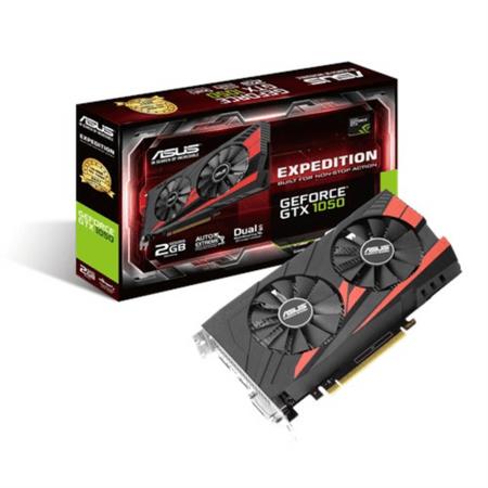 Asus grafična kartica GTX 1050, 2GB GDDR5, PCI-E 3.0 (EX-GTX1050-2G)
