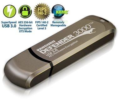 Kanguru varen USB ključ Defender 3000 PRO, 8 GB