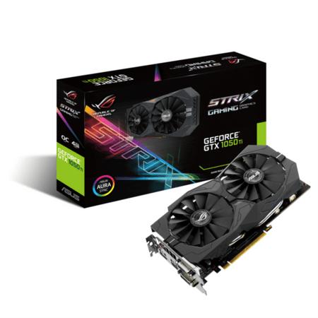 Asus grafična kartica STRIX GTX 1050 Ti, 4GB GDDR5, PCI-E 3.0 (STRIX-GTX1050TI-O4G-GAMING)