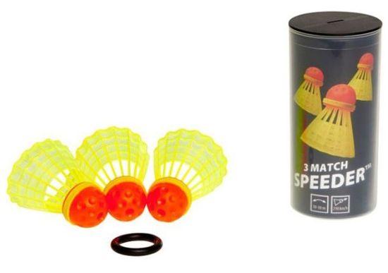 SpeedMinton loptice MATCH speeder (3 kom)